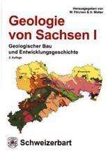 Geologie von Sachsen von Werner Pälchen und Harald Walter (2008, Gebunden)
