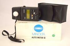 Minolta Flash Meter III 3 Luxmètre Professionnel Entièrement Fonctionnel
