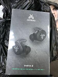 JAYBIRD VISTA 2 True Wireless Sport Headphones Black New Sealed985-000928