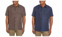 NEW Woody's Men's Retro Lounge Short Sleeve Woven Shirt - VARIETY