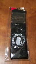 MY CHEMICAL ROMANCE BLACK, RED, AND WHITE KNEE-HI SOCKS Size 9-11 NEW