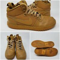 Nike Court Borough Mid Wheat Athletic Basketball Tennis Shoe Sneaker Men Size 11