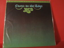 """MFSL 1-077 YES """" CLOSE TO THE EDGE """" (FIRST-JAPANPRESSING-SERIES/FACTORY SEALED)"""