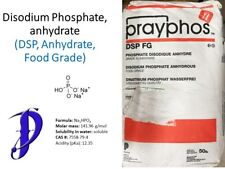 Disodium phosphate (DSP), food grade, 1.0 lb, anhydrous