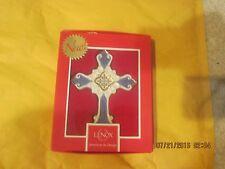 Lenox China Blessing Cross Ornament New