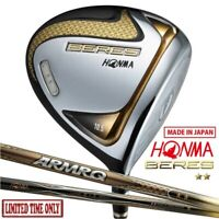 LIMITED TIME ONLY 2-Star 2020 HONMA Golf Japan BERES Driver ARMRQ47 9.5/10.5 deg