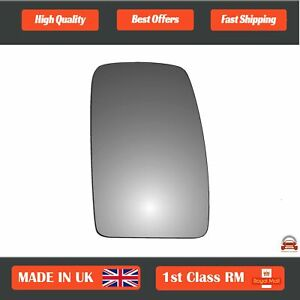 Renault Master 2004-2018 Right Driver Side Convex wing mirror glass 105RS
