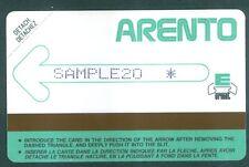 TELECARTE EGYPTE EGYPT TEST 6- Urmet - Test Demo -SAMPLE 20 - 1986 - Mint - RARE