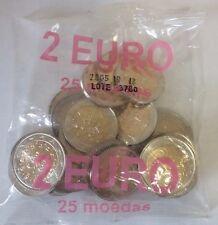 Portugal 2005 2 Euro. Bag of 25 coins Rare + Gift (Capsule)
