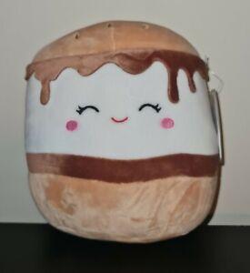 """Squishmallow 8"""" Carmelita The Smore"""