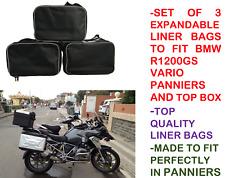 Alforja los trazadores de líneas bolsos y bolsa de la caja superior Para BMW Vario R1200GS F800GS F650GS ampliable