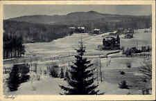 OBERHOF Thüringen Stempel auf AK 1932 Parkhotel Wünscher am Schneekopf AK