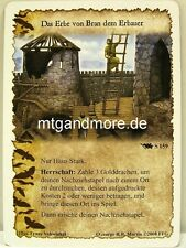 A Game of Thrones LCG - Base Set - 1x Das Erbe von Bran dem Erbauer  #159 S