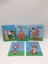 Abeka K4 Little Owl Books 1-5, Tip, Gus,  Preschool Homeschool / School