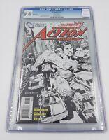 DC Comics Action Comics #1 CGC 9.8 Superman The New 52 Sketch Cover Version