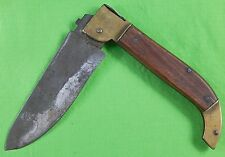 Old Vintage Antique Italian Italy H.A. MACK Boston US Huge Folding Pocket Knife
