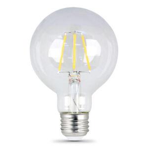 FEIT Electric 45 watts G25 LED Bulb 300 lumens Soft White 40 Watt  Globe