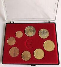 BELGIQUE 2000 - SERIE COMPLETE D'EURO DE CIRCULATION EN COFFRET