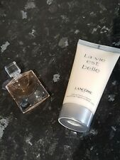 Lancome La Vie Est Belle perfume 4ml + Body Lotion 50ml Travel Set