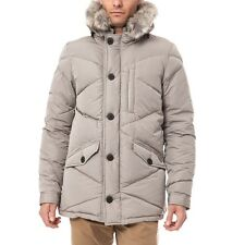 460$ Scotch & Soda Hooded Jacket With Faux Fur Stone Size L New with Tags