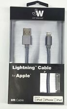 Just Wireless 13302 Lightning Cable (6ft) for Apple