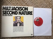 Vintage Jazz Lp Milt Jackson Second Nature Savoy 2Lp Gatefold NM Vinyl