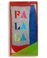 HUE 2-pack Footsie Socks Gift Box Fa La La