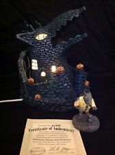 Hawthorne Village Nightmare Before Christmas Wolfman House & Wolfman Figurine
