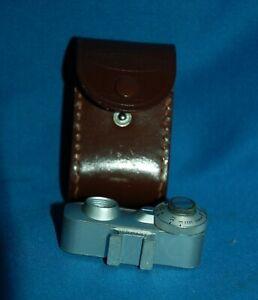 Voigtlander Photopia film camera range finder in case
