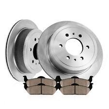 Rear Rotors Ceramic Pads For Rainier SSR Trailblazer Envoy Ascender Bravada 9-7X