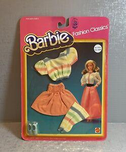 1983 Vintage Mattel Barbie Fashion Classics 5702 MOC NEW