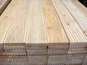 Terrassendielen 27x145 mm sibirische Lärche Terrassenbohlen Holzterrasse Top