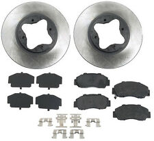 Honda Accord 95-97 V6 2.7L Front Disc Brake Pads Rotors Shims Hardware Kit