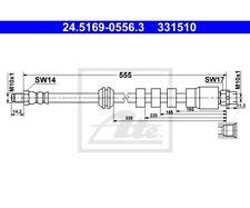 ATE Brake Hose 24.5169-0556.3