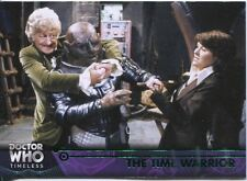 Doctor Who Timeless Green Parallel Base Card #17 The Time Warrior