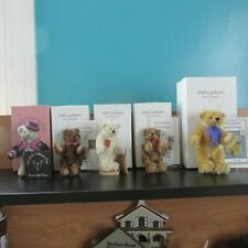 Deb Canham Artist Design. LOT OF 5 collectible bears