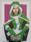 ROGUE X-MEN 2013 ORIGINAL WOMEN OF MARVEL SKETCH CARD