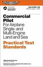 Commercial Pilot for Airplane Single- and Multi-Engine Land and Sea-ExLibrary