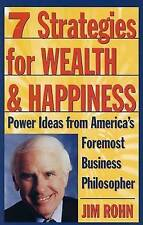 Seven Strategies for Wealth and Happiness by Jim Rohn (Paperback, 1996)