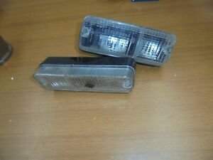 Fiat 128 Sport Coupe' Pair Lights Front New