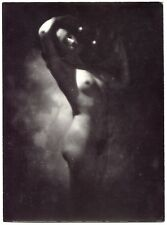 Nu - Tirage argentique 1910 - Pictorialisme -