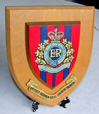3rd Field  Squadron Royal Canadian Engineers - Plaque 50s-60s Era