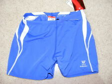 "BOYS 28"" TYR ALLIANCE SPLICE SQUARE LEG JAMMERS TRUNKS SWIM BNWT DURAFAST SHORTS"