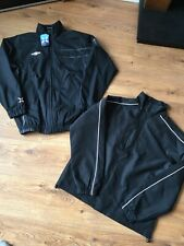 2 Mens Umbro Raincoat Windbreaker Jacket Small Tracksuit Tops Track Black BNWT