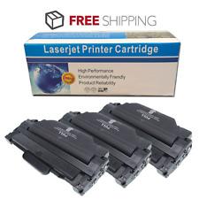 3 Pack Toner Cartridge MLT-D105L for Samsung SCX-4623F 4623FN 4623FW SF-650 650P
