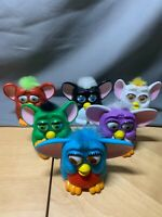 Vintage 1998 Furby's McDonald's Happy Meal Toys Plastic Lot of 6