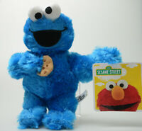 Sesame Street SOFT Cookie Monster Plush STUFFED ANIMAL Kids Birthday Gift New