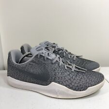 Nike Mamba Rage Kobe basketball shoes Men's 11.5 Platinum Instinct 852473-002