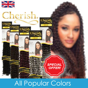 Cherish Water Wave Bulk 22'' Crochet Hair Braids (All Popular Colors)