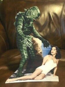 Creature from the Black Lagoon Movie Figure Tabletop Display Standee 9.5 Tall